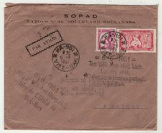 Viêt-Nam // Vietnam //  Lettre Pour Saigon 6/6/1951 - Vietnam