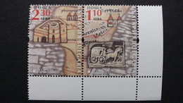 Bulgarien 5472/3 AS **/mnh, EUROPA/CEPT 2020, Historische Postrouten - Nuovi