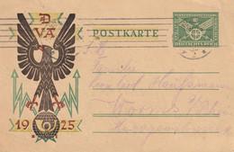 Allemagne Entier Postal Illustré 1925 - Stamped Stationery