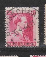 COB 528 Centraal Gestempeld Oblitération Centrale BRASSCHAAT - 1936-1957 Open Collar
