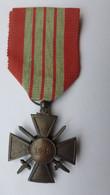 CROIX DE GUERRE 1939 DE MILAN DU CEF - ITALIE - 1939-45