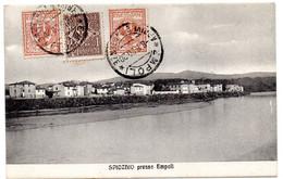 Tarjeta Postal De Spicchio Presso Empoli Circulada De 1920 - Empoli