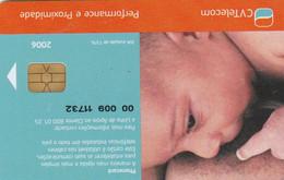 """Cape Verde,CPV-31B, UNICEF - Para Um Bom... - New Logo, 2 Scans.   Control Code Starting With """"00 009"""" - Cabo Verde"""