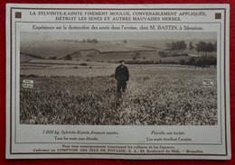 CPA La Sylvinite-Kainite / M. Bastin à Silenrieux / Comptoir Des Sels De Potasse, Bruxelles - Cerfontaine