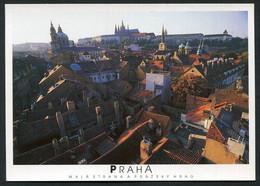 Hlavní Město Praha, Malastranaaprazskyhrad , Praag .  - NOT  Used  2 Scans For Condition. (Originalscan !! ) - Chechnya