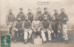 Carte-photo Des Anciens Du 4ème Peloton 1903 De St. MIHIEL.. - Saint Mihiel