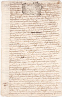 24259# GENERALITE LORRAINE ET BARROIS DEUX GROS NANCY 1716 MEURTHE ET MOSELLE BAR MEUSE - Seals Of Generality