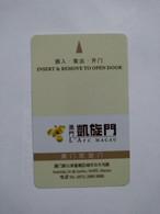 Macau Hotel Key, L'Arc Macau, (1pcs) - Hotel Keycards