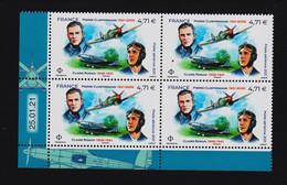 FRANCE - 2021 - Bloc De 4 Timbres à 4,71€ - Poste Aérienne N° 85 - Daté Du 25 01 21 - Neufs ** - 1960-.... Mint/hinged