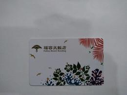 Taiwan Hotel Key, Fullon Hotel Kending, (1pcs) - Hotel Keycards