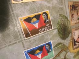 Antigua La Bandiera  1 VALORE - America (Other)