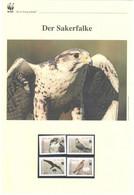 Kirgisien 2009 - WWF Der Sakerfalke - Komplettes Kapitel Postfrisch MK FDC - Unclassified