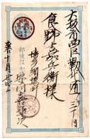 Entero Postal De Japon.1 - Postales
