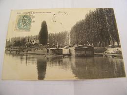 CPA - Cambrai (59) - L'Ecluse De Selles - 1906 - SUP  (EX 82) - Cambrai