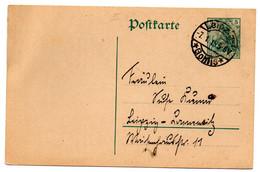 Entero Postal De Alemania Matasellos Leipzig 1915 - Stamped Stationery