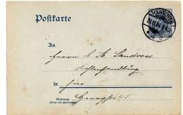 Entero Postal De Alemania Matasellos Hanover 1904 - Stamped Stationery
