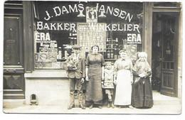 Fotokaart - Bakker En Winkelier J. Dams - Jansen. - Antwerpen