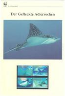 St. Vincent Grenadinen Mayreau 2009 - WWF Der Gefleckte Adlerrochen - Komplettes Kapitel Postfrisch MK FDC - Unclassified