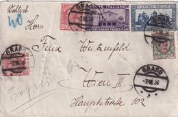 ITALIE 1926 LETTRE DE GRADO - Storia Postale