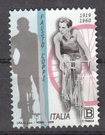 Italie 2019 Mi Nr 4141, Wielrennen, Bike, Fausto Coppi - 2011-...: Usados