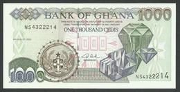 GHANA. 1000 CEDIS  4/8/2003. Pick 32i. UNC / NEUF. - Ghana