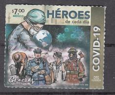 Mexico 2020 Mi Nr ??, Covid - 19, Heroes - Mexique