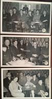 3 Photos Studio Bondier 24 Bergerac 30 Mars 1958 Décoration Légion D'Honneur Mrs Bonnet - Genson, Buffet Salle Orangerie - Places
