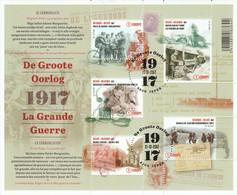 Belgie   .   OBP   .    Blok   Xxxx      .  O      .  Gebruikt     .   /   .  Oblitéré - Blocks & Sheetlets 1924-1960