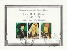 Belgie   .   OBP   .    Blok  36     .     O      .  Gebruikt     .   /   .  Oblitéré - Blocks & Sheetlets 1924-1960