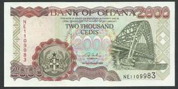 GHANA. 2000 CEDIS  2/9/2002. Pick 33g. UNC / NEUF. - Ghana