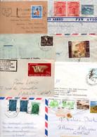 ASIE LOT DE LETTRES ET CARTES - 370 GRAMMES - Lots & Kiloware (mixtures) - Max. 999 Stamps