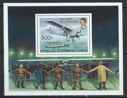 Congo-Brazzaville YT Bloc 12 Neuf Sans Charnière XX / MNH Lindbergh Aviation - Mint/hinged
