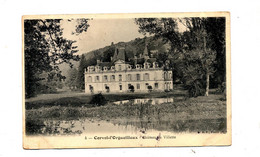 Carte Corvol Chateau Villette Cachet Tannay Sur Semeuse - Otros Municipios