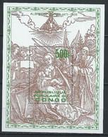 Congo-Brazzaville YT Bloc 20 Neuf Sans Charnière XX / MNH Dürer - Mint/hinged