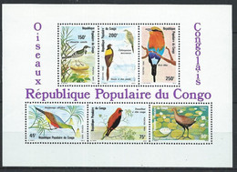 Congo-Brazzaville YT Bloc 25 Neuf Sans Charnière XX / MNH Oiseau Bird - Mint/hinged