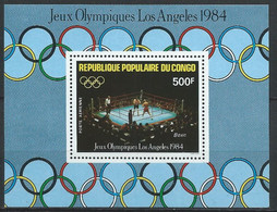 Congo-Brazzaville YT Bloc 35 Neuf Sans Charnière XX / MNH Sport Boxe - Mint/hinged