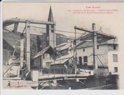 05 – LES ALPES – Environs De BRIANCON – SAINT CHAFFREY – Le Pont De La Route Nationale Et L'Eglise. CPA Non Circulée. 10 - Altri Comuni
