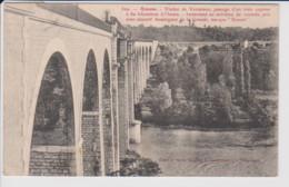 26 – ROMANS – Viaduc De VERNAISON, Passage D'un Train Express à 80 Kilomètres à L'heure. Instantané Au Millième De Sec - Romans Sur Isere