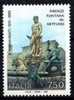 ITALIA 1992 - FLORENCIA - ESTATUA DE NEPTUNO - YVERT Nº 1933** - 1991-00:  Nuevos