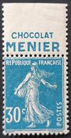 FRANCE / YT 192 Pub MENIER / NEUF ** / MNH - Advertising