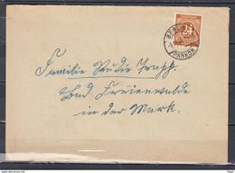 Brief N°15 Van Berlin Pankow Naar Sumilin (305) - French Zone