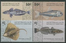 Austral. Antarktis 2006 Fische Seehecht Rochen 165/68 ZD Postfrisch - Neufs