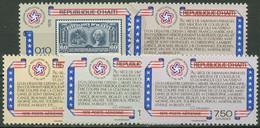 Haiti 1976 Unabhängkeit Amerikas 1278/82 Postfrisch - Haití