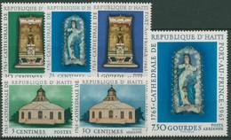 Haiti 1965 Kathedrale Port-au-Prince 840/45 Postfrisch - Haití