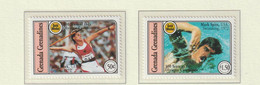 Grenada Grenadines 1994 Centenary Of The International Olympic Committee 2 Stamps MNH/** (M5) - Other