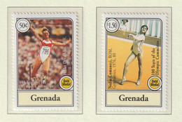 Grenada 1994 Centenary Of The International Olympic Committee 2 Stamps MNH/** (M5) - Other