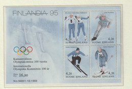 Finland 1994 Centenary Of The International Olympic Committee Souvenir Sheet MNH/** (M5) - Other