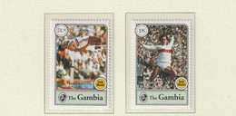 Gambia 1994 Centenary Of The International Olympic Committee 2 Stamps MNH/** (M5) - Other