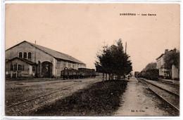 Surgeres -  Les Gares -  CPA°bt - Other Municipalities