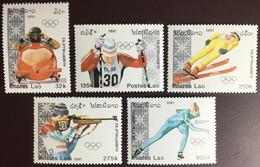 Laos 1991 Winter Olympics MNH - Laos